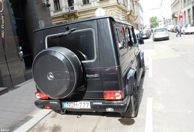 Mercedes-Benz G 63 AMG 2012