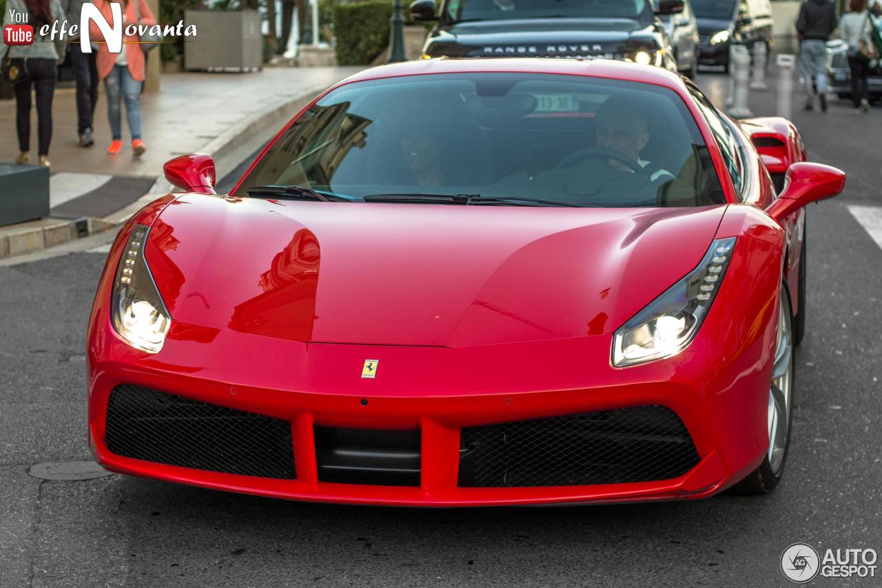 ferrari 488 gtb 27 october 2016 autogespot. Black Bedroom Furniture Sets. Home Design Ideas
