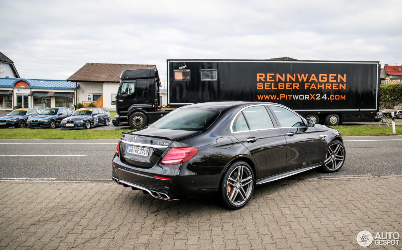 Mercedes Amg E 63 S W213 27 Oktober 2016 Autogespot
