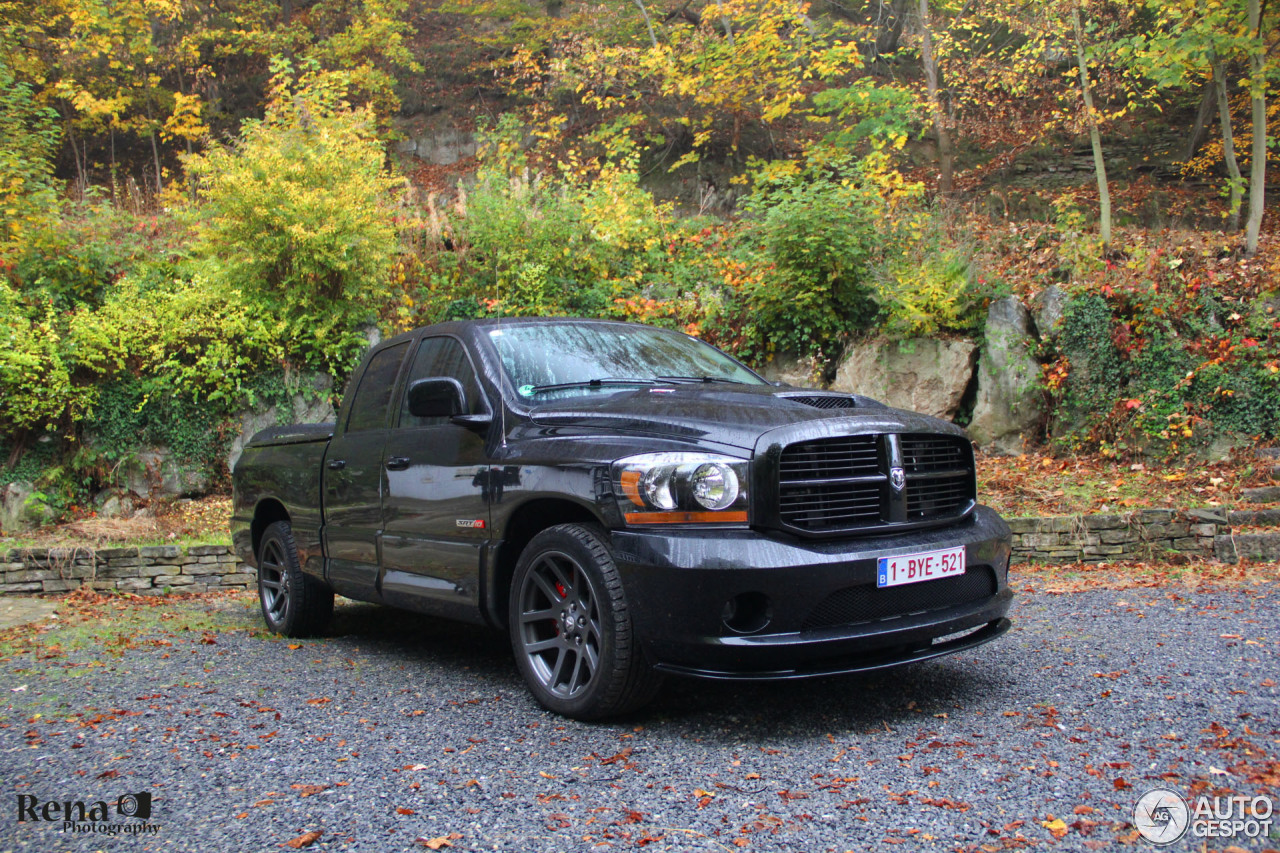 dodge ram srt 10 quad cab 29 october 2016 autogespot. Black Bedroom Furniture Sets. Home Design Ideas
