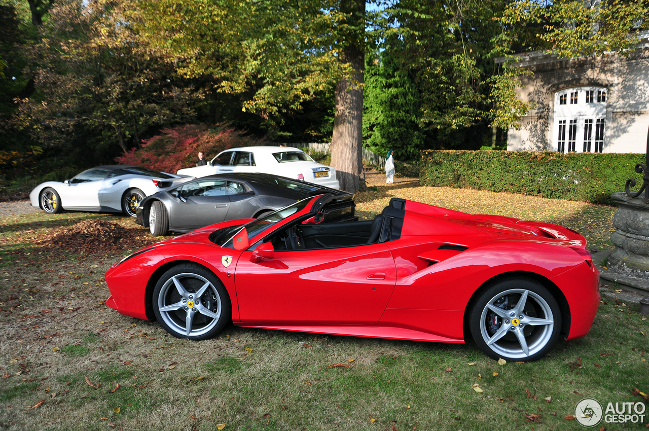 ferrari 488 spider 29 october 2016 autogespot. Black Bedroom Furniture Sets. Home Design Ideas