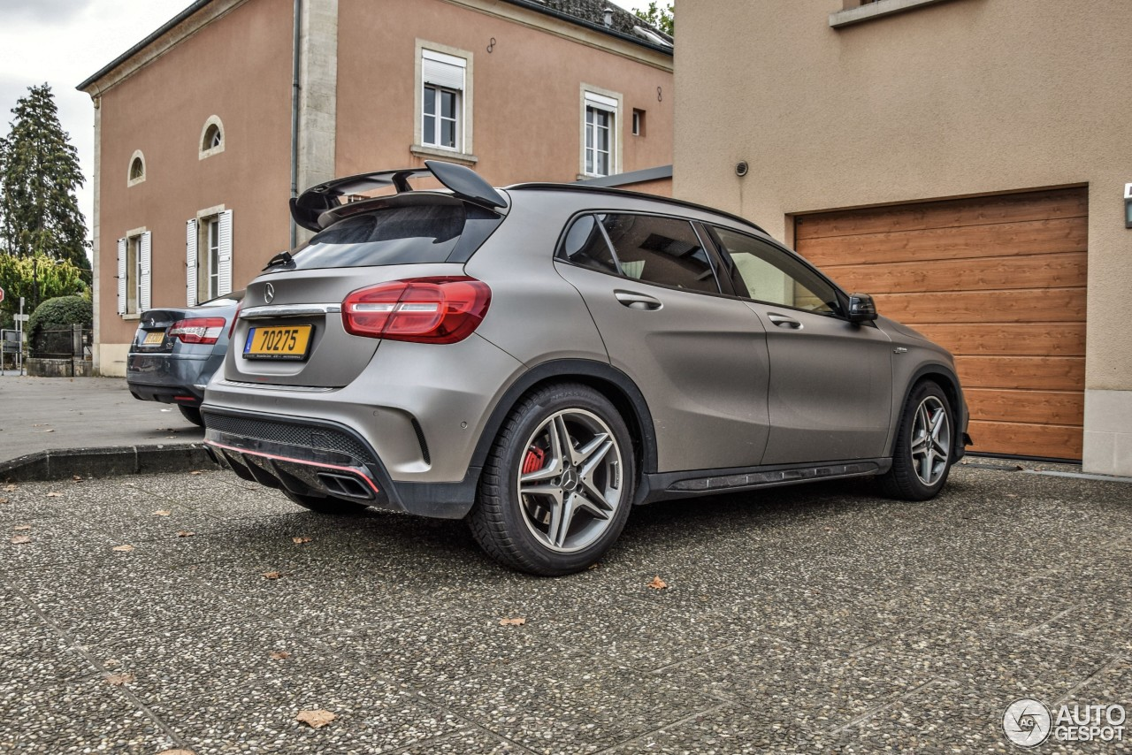 mercedes benz gla 45 amg edition 1 29 october 2016 autogespot. Black Bedroom Furniture Sets. Home Design Ideas