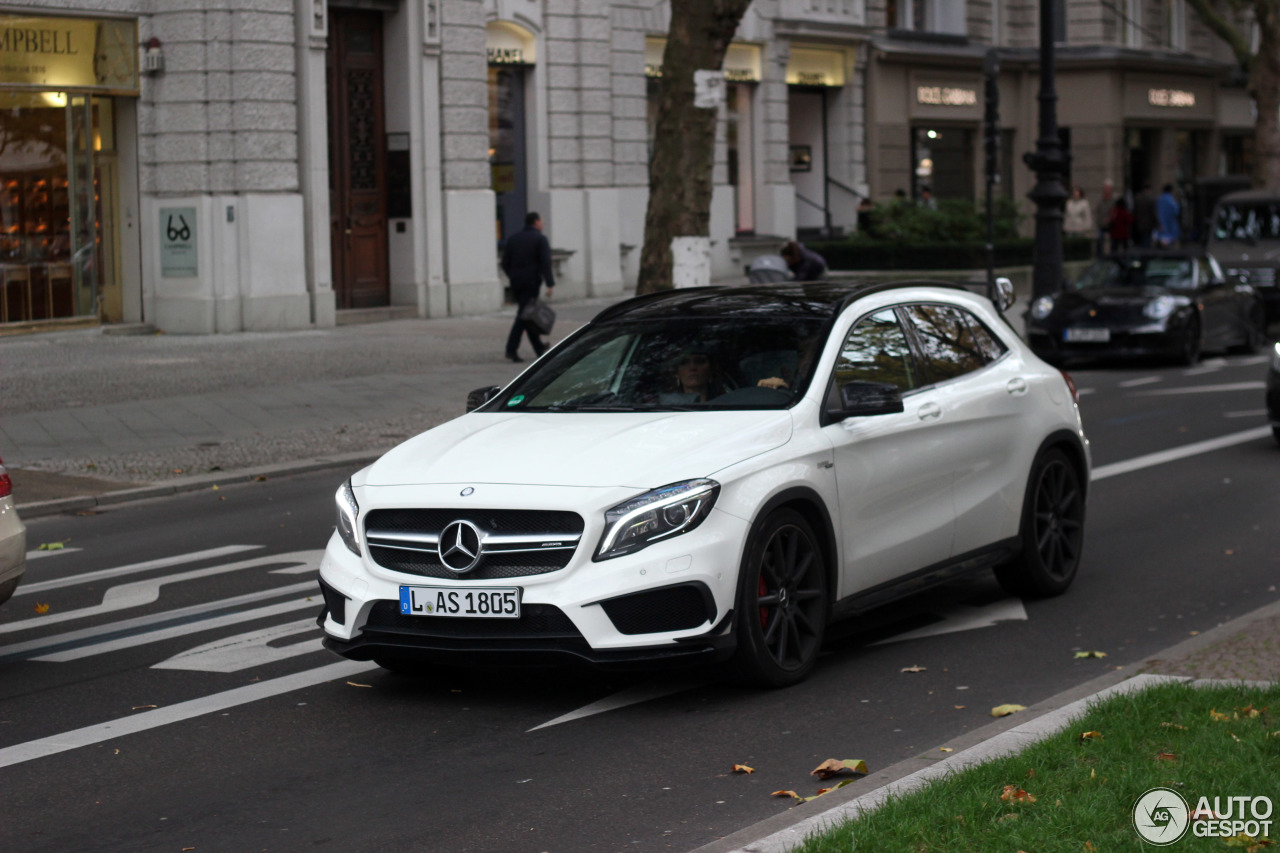 Mercedes benz gla 45 amg x156 29 october 2016 autogespot for Mercedes benz gla 45 amg for sale