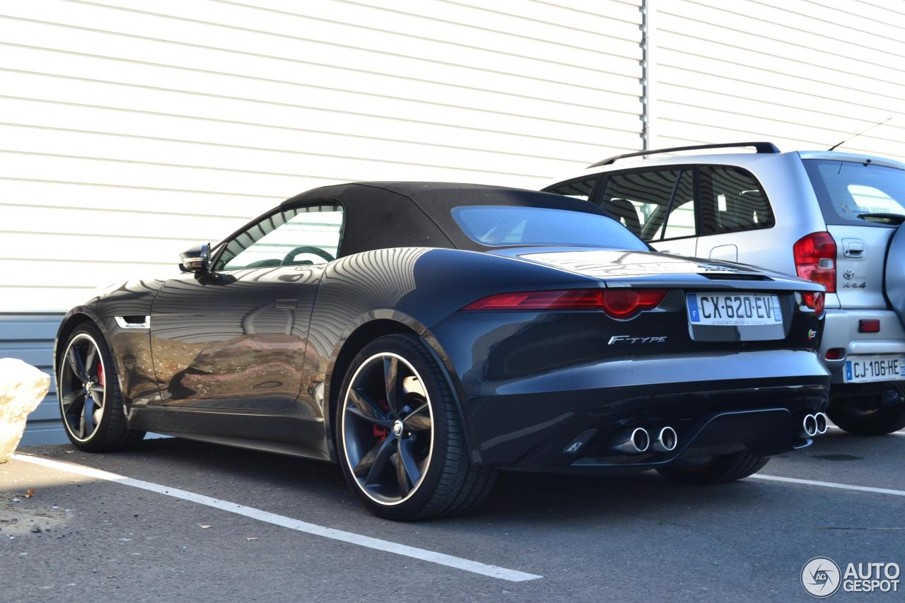 jaguar f type s v8 convertible 30 october 2016 autogespot. Black Bedroom Furniture Sets. Home Design Ideas