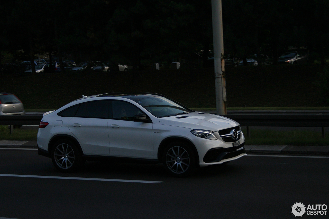 mercedes amg gle 63 coupe 30 october 2016 autogespot. Black Bedroom Furniture Sets. Home Design Ideas