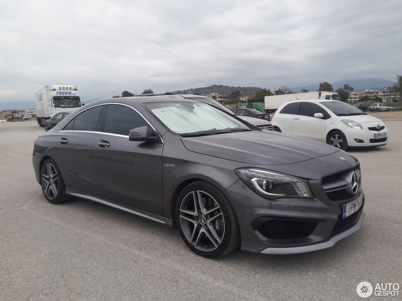 mercedes benz cla 45 amg c117 30 october 2016 autogespot. Black Bedroom Furniture Sets. Home Design Ideas