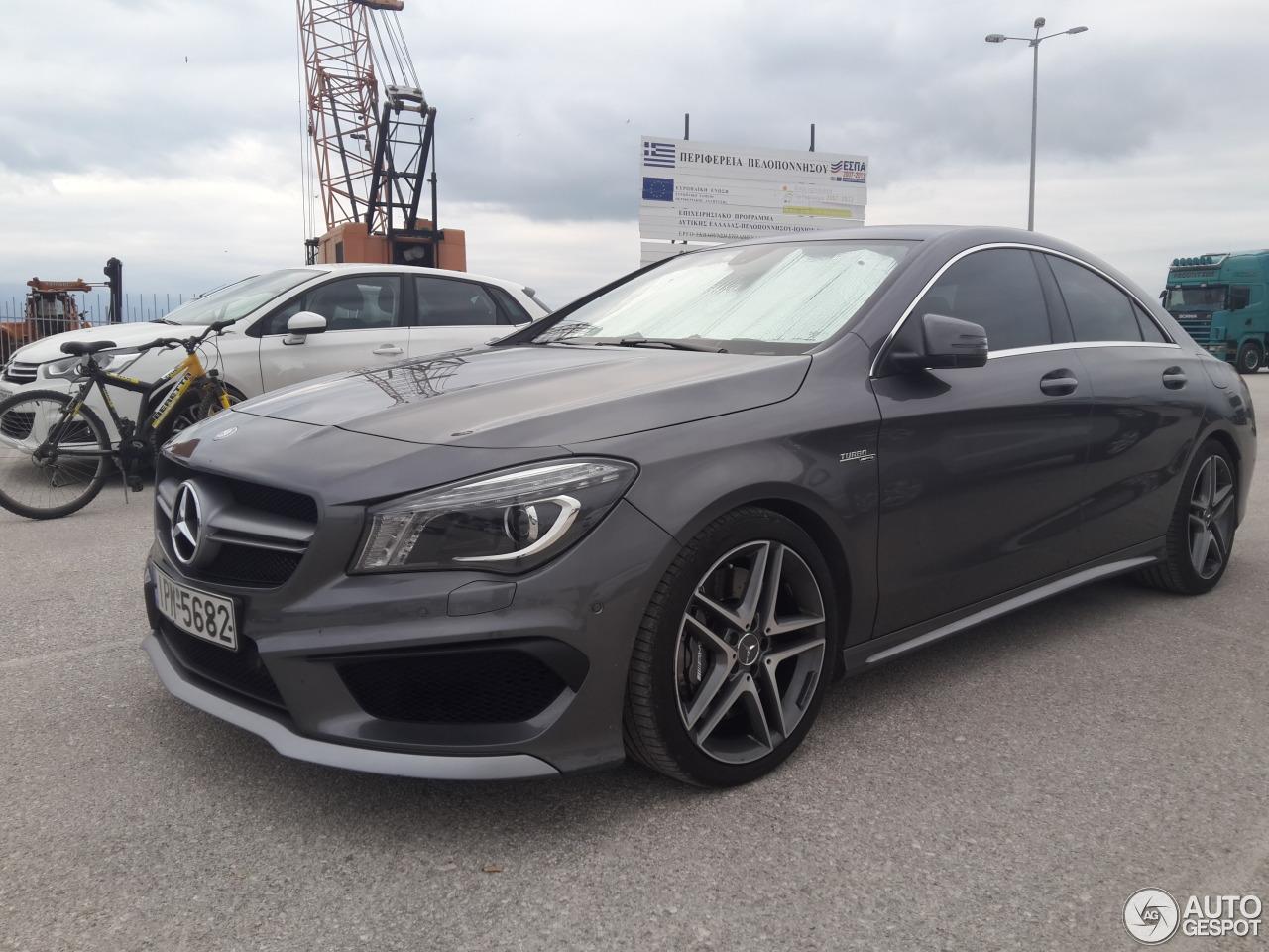 Mercedes benz cla 45 amg c117 30 october 2016 autogespot for Mercedes benz cla 250 amg price