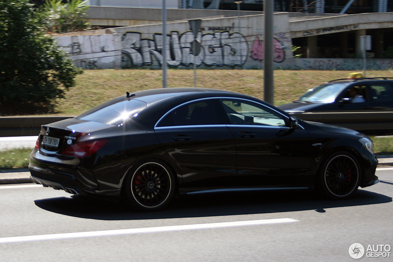 mercedes benz cla 45 amg c117 30 octobre 2016 autogespot. Cars Review. Best American Auto & Cars Review