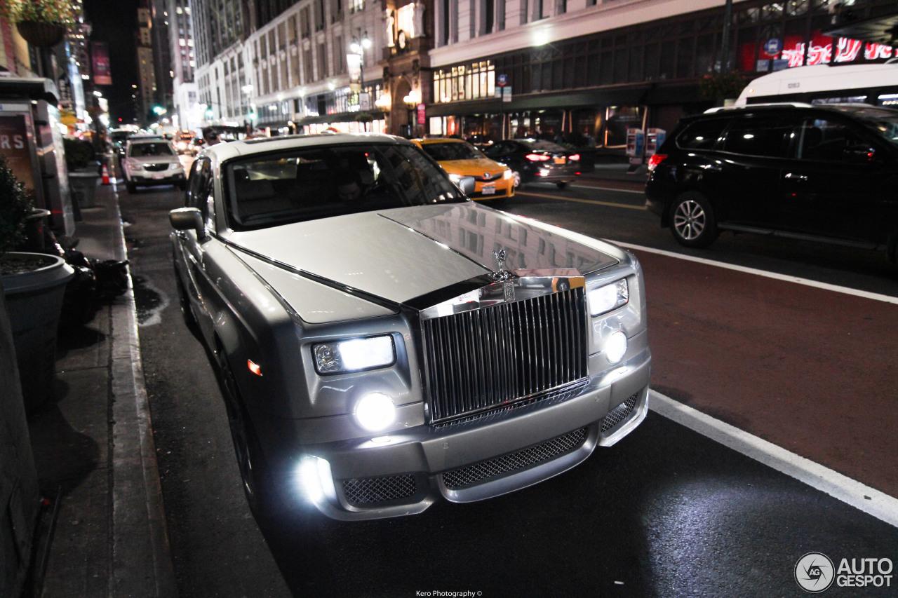 Rolls Royce Silver Ghost >> Rolls-Royce WALD Phantom Black Bison Edition - 30 October 2016 - Autogespot