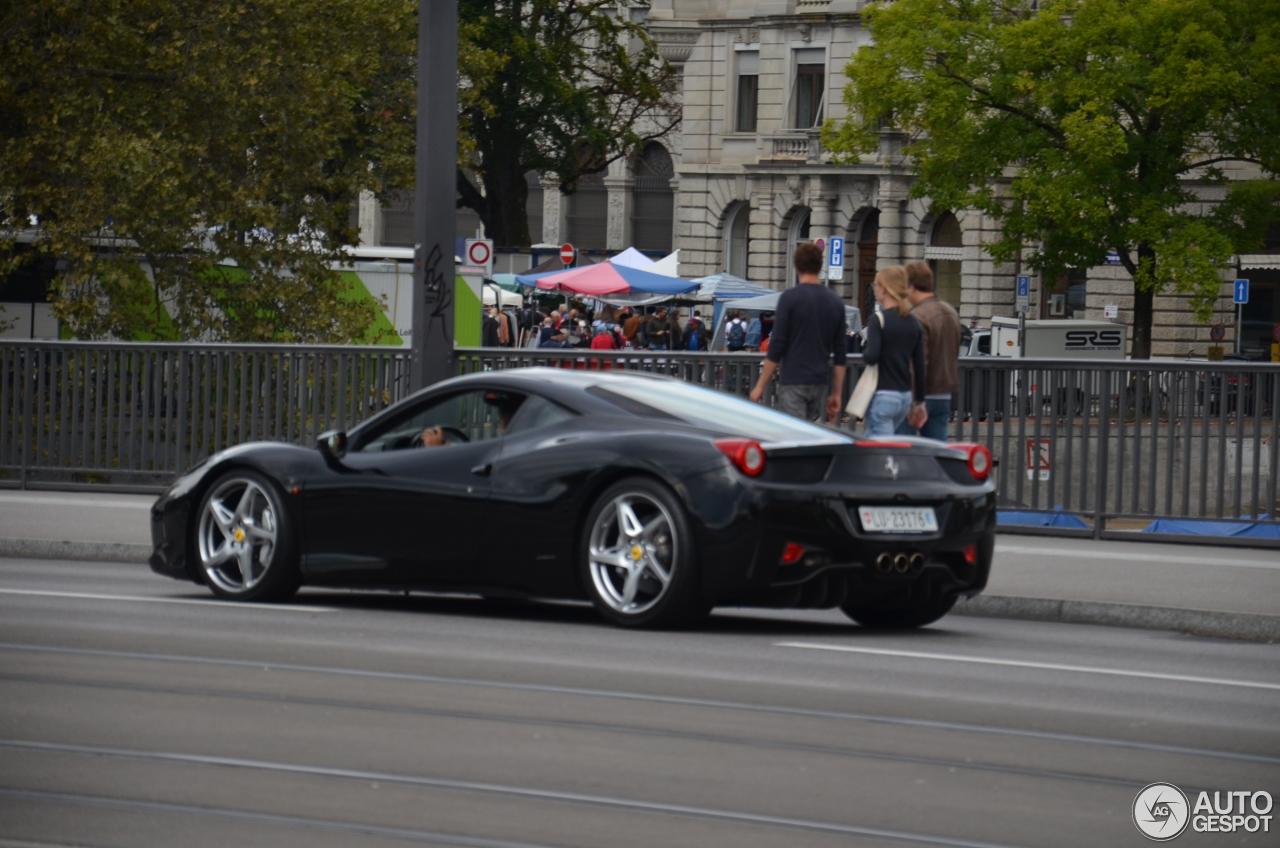 ferrari 458 italia 31 october 2016 autogespot. Cars Review. Best American Auto & Cars Review