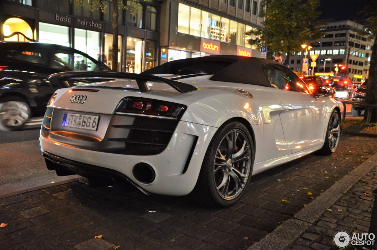 audi r8 gt spyder 1 novembre 2016 autogespot. Black Bedroom Furniture Sets. Home Design Ideas