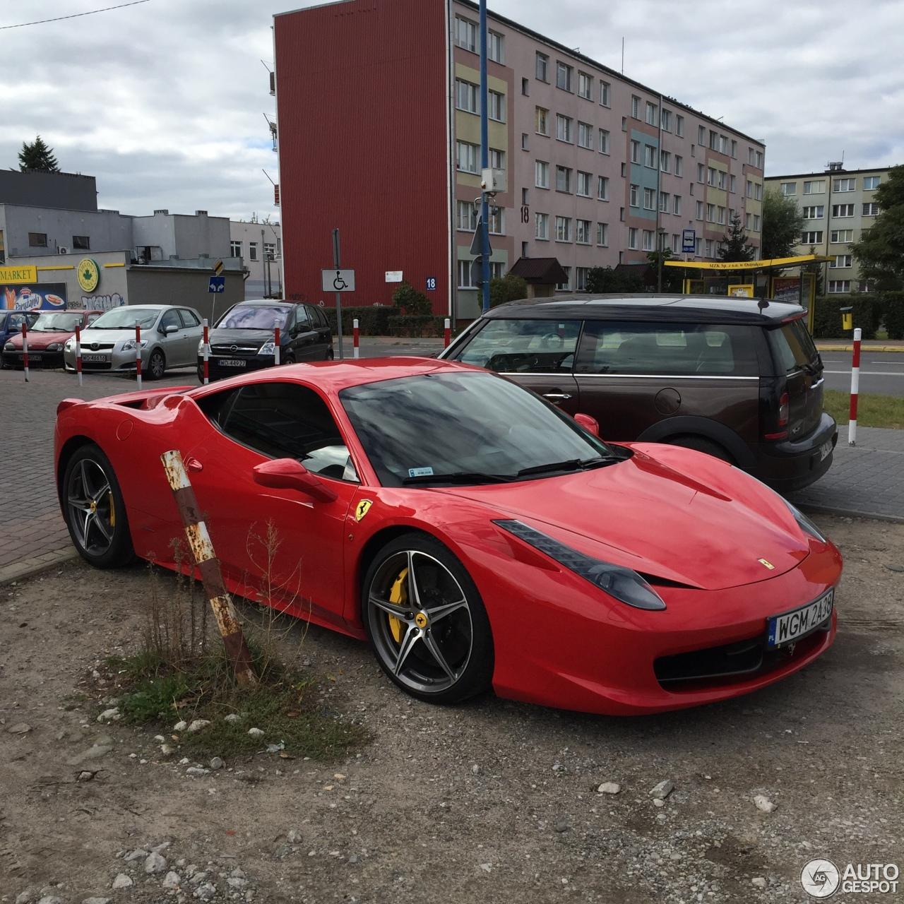 Ferrari 458: Ferrari 458 Italia