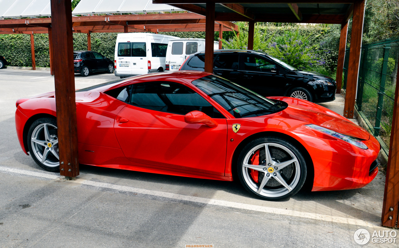 ferrari 458 italia 1 november 2016 autogespot. Cars Review. Best American Auto & Cars Review