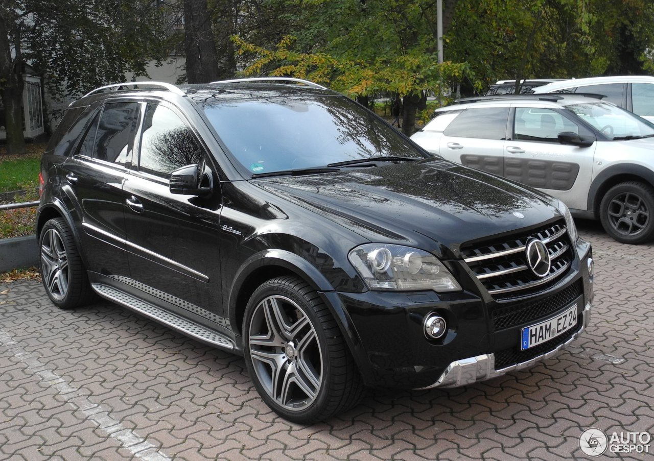 mercedes benz ml 63 amg w164 2009 1 november 2016 autogespot. Black Bedroom Furniture Sets. Home Design Ideas