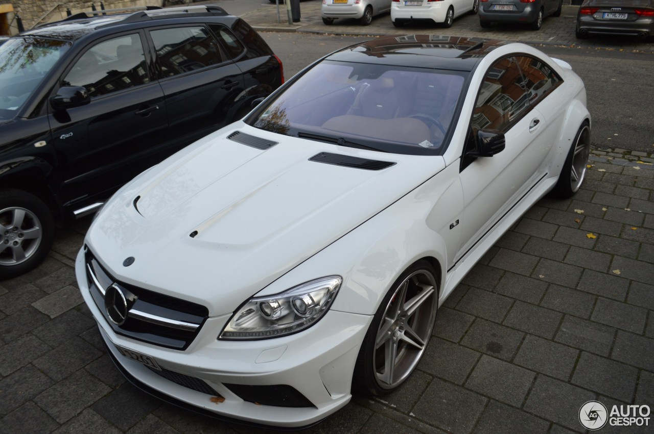 Mercedes benz prior design cl 63 amg v2 widebody 1 for Mercedes benz cl 63 amg price