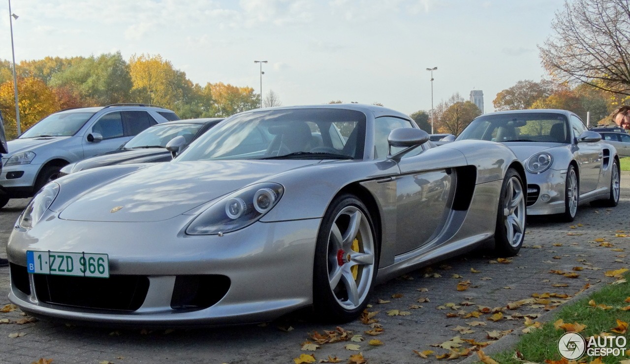 porsche carrera gt 1 november 2016 autogespot my favourite porsche car. Black Bedroom Furniture Sets. Home Design Ideas