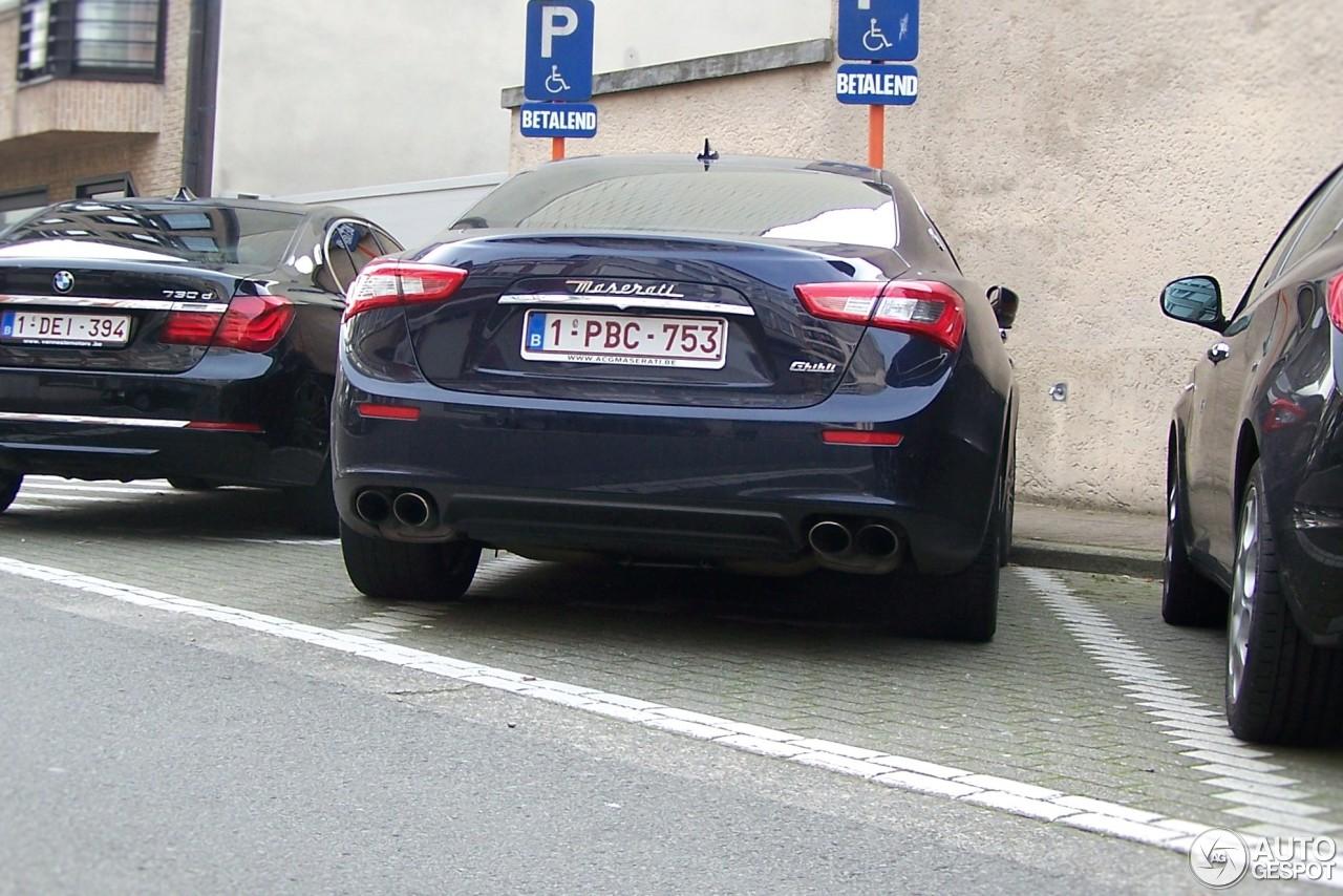 Maserati Ghibli 2013 2 November 2016 Autogespot