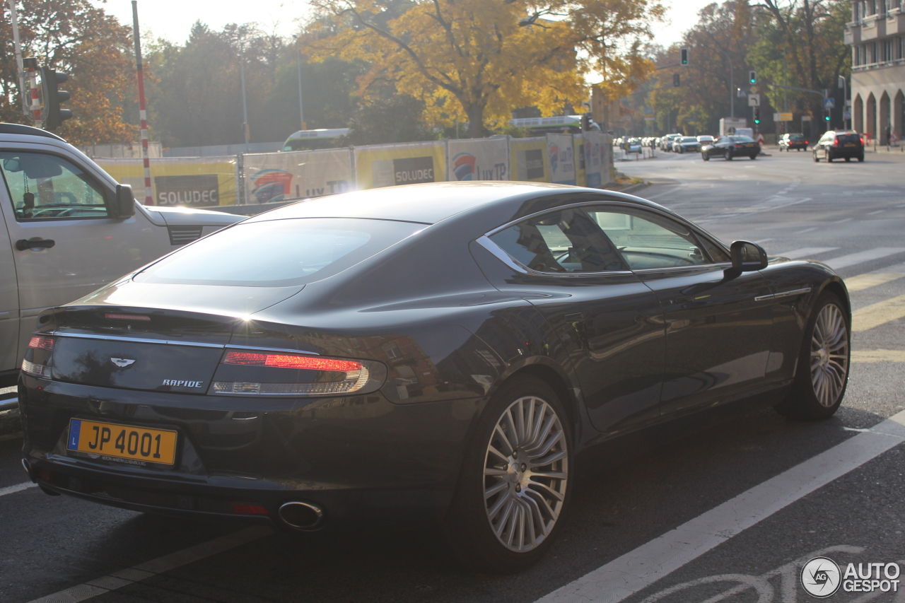aston martin rapide 3 november 2016 autogespot. Cars Review. Best American Auto & Cars Review
