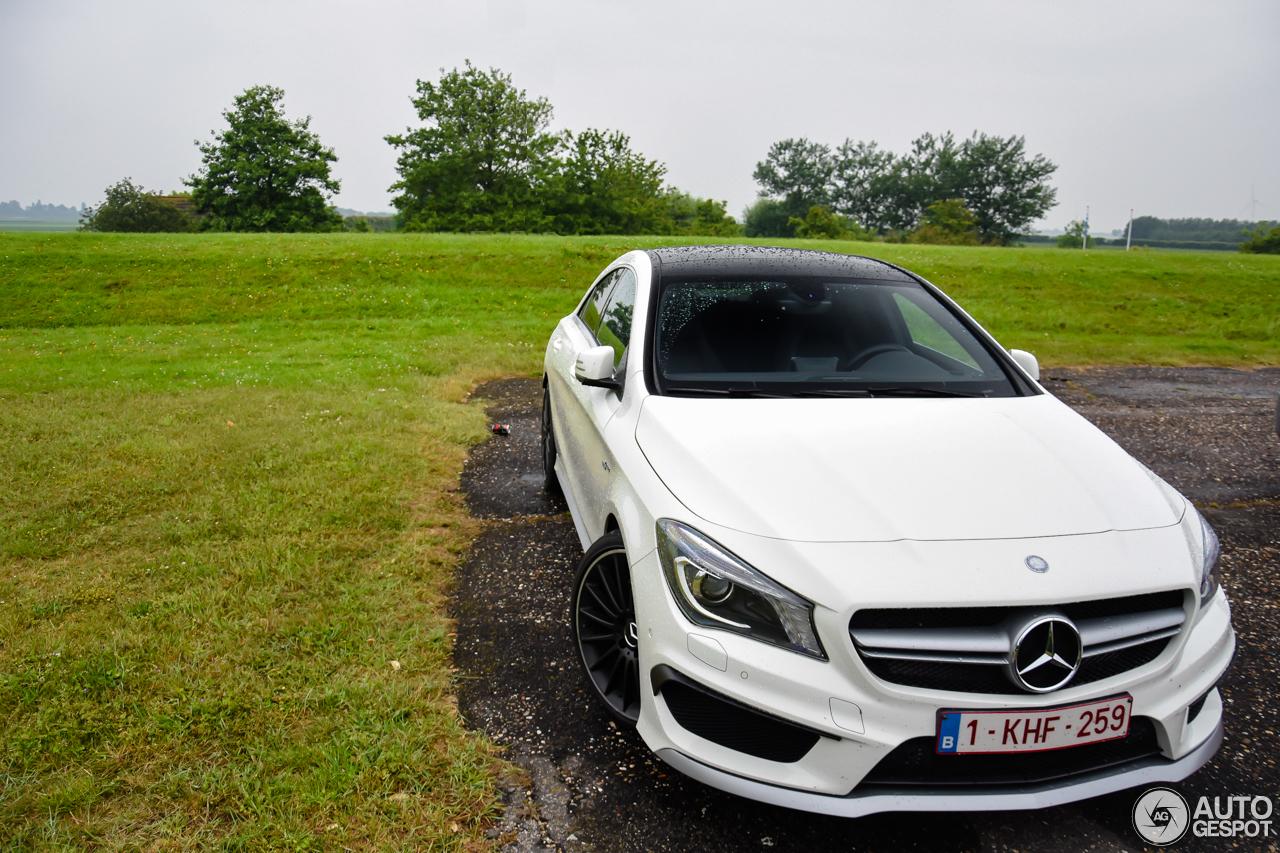 Mercedes benz cla 45 amg c117 3 november 2016 autogespot for Mercedes benz cla 250 amg price