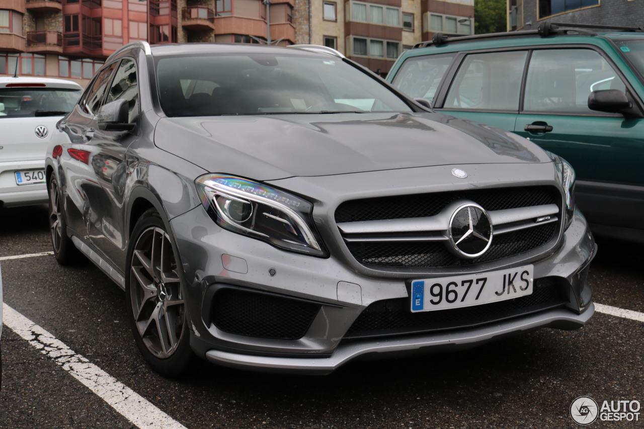 Mercedes benz gla 45 amg x156 3 november 2016 autogespot for Mercedes benz gla 45 amg price