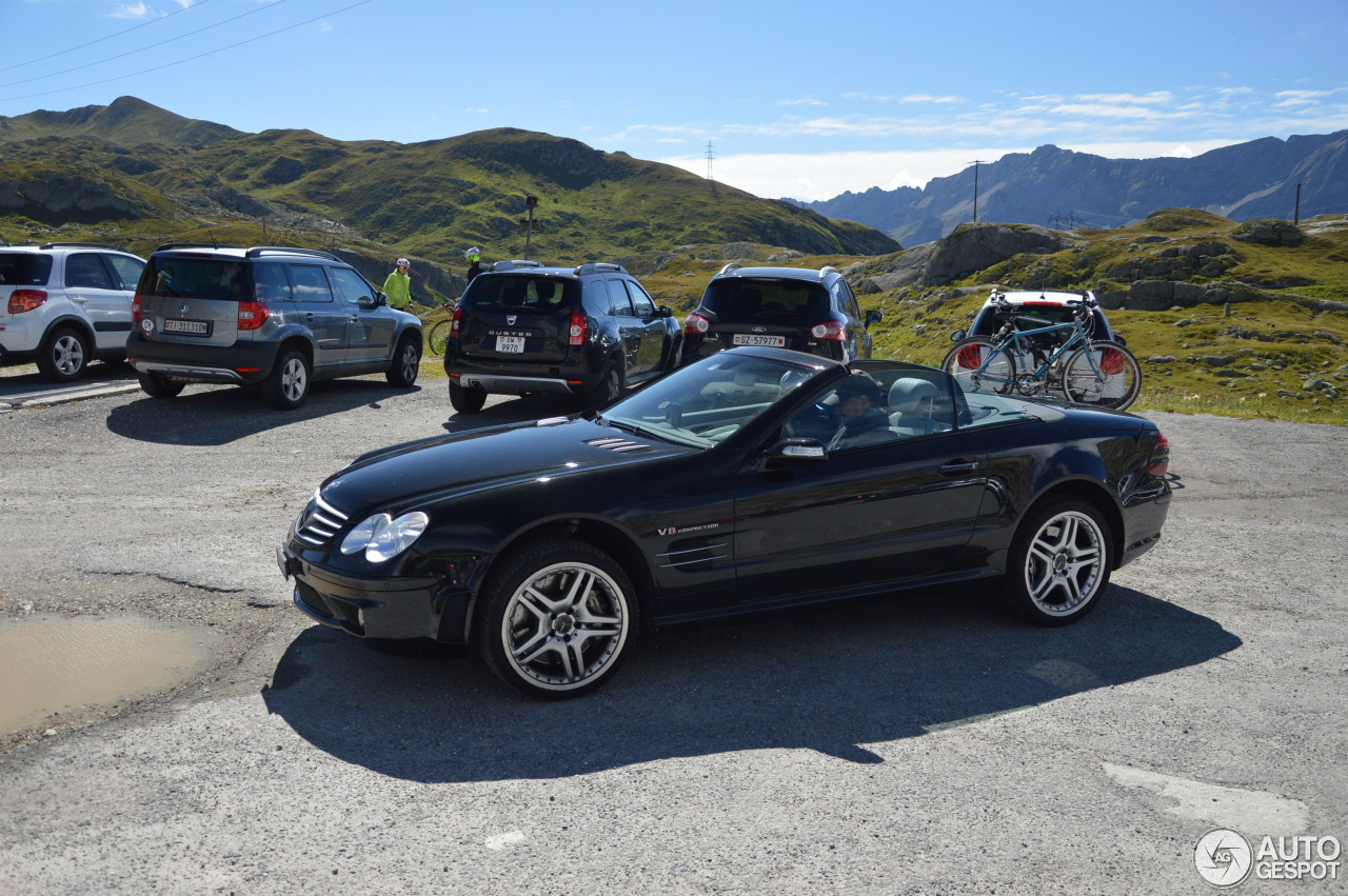 Mercedes benz sl 55 amg r230 3 november 2016 autogespot for Mercedes benz sl550 amg price