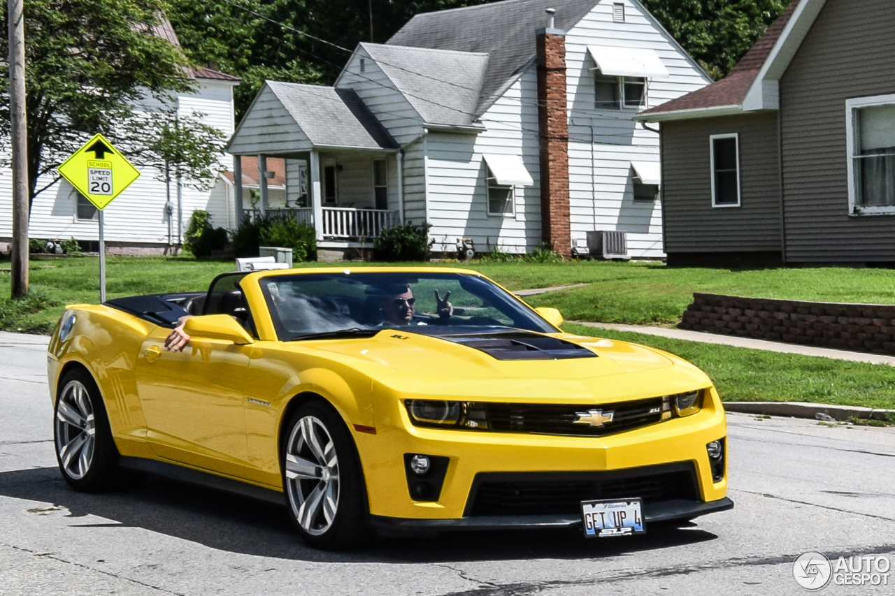 Chevrolet Camaro Zl1 Convertible 4 November 2016