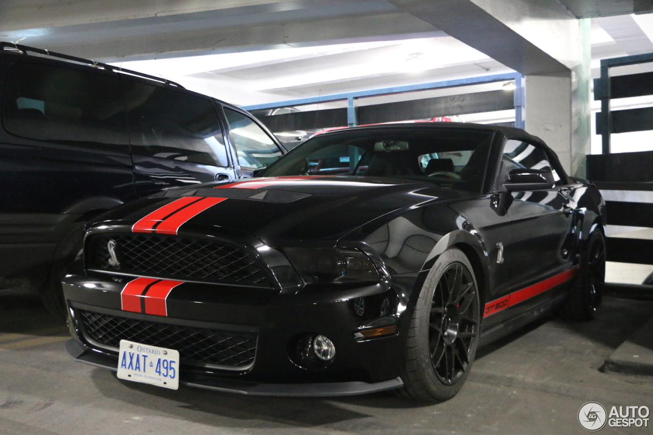 ford mustang shelby gt500 convertible 2014 4 november 2016 autogespot. Black Bedroom Furniture Sets. Home Design Ideas