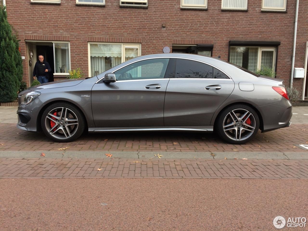 Mercedes benz cla 45 amg c117 4 november 2016 autogespot for Mercedes benz cla 250 amg price