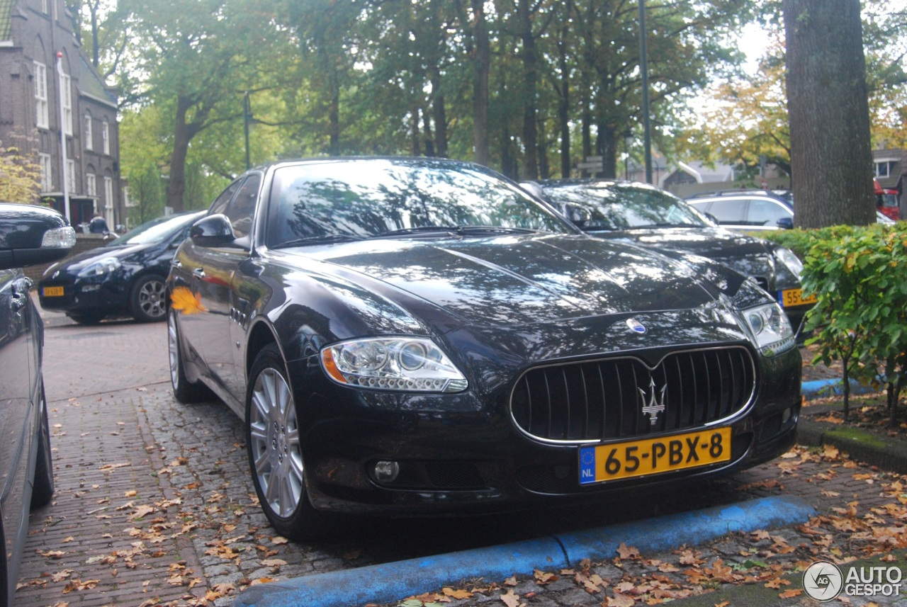 maserati quattroporte 2008 5 november 2016 autogespot. Black Bedroom Furniture Sets. Home Design Ideas