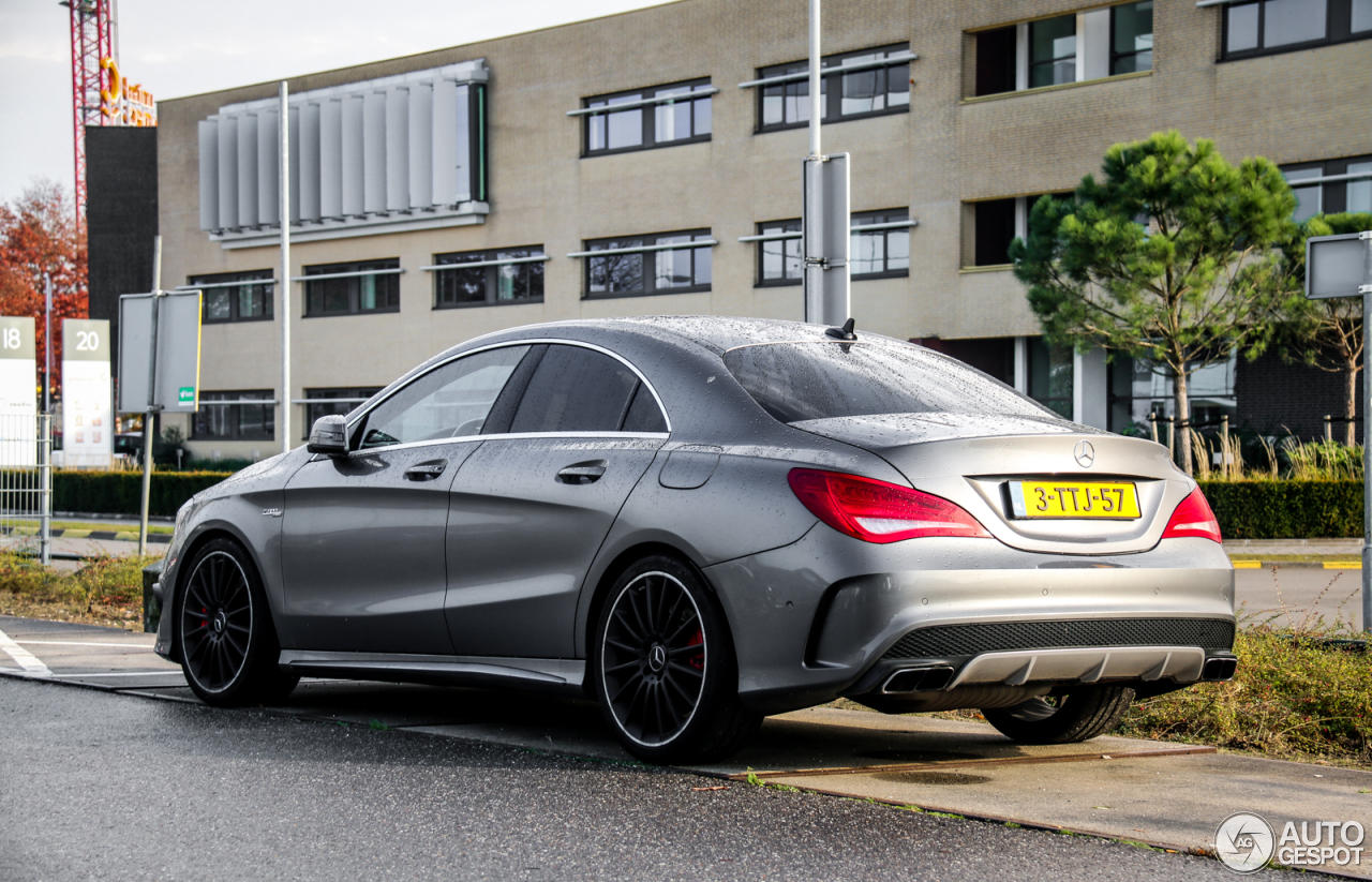 Mercedes benz cla 45 amg c117 5 november 2016 autogespot for Mercedes benz cla 250 amg price