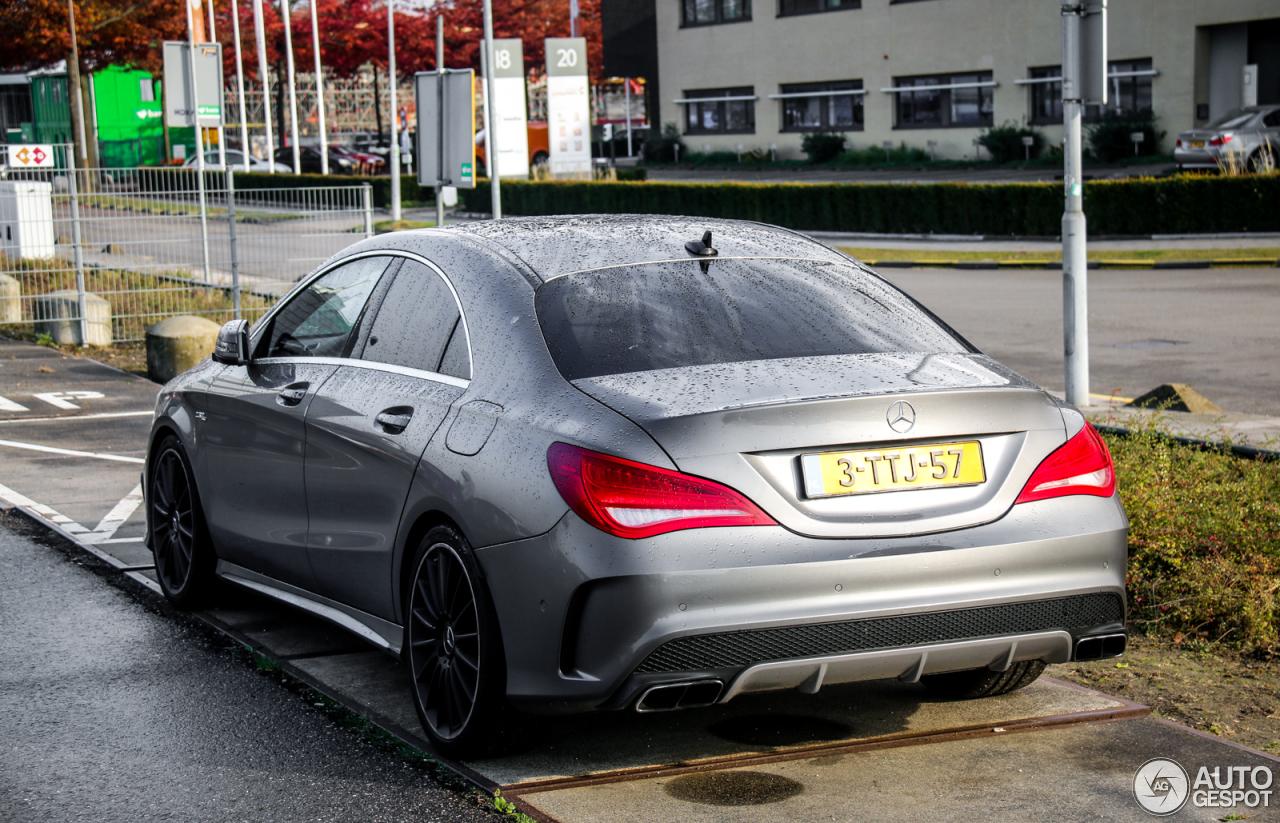 Mercedes benz cla 45 amg c117 5 november 2016 autogespot for Mercedes benz cla amg price