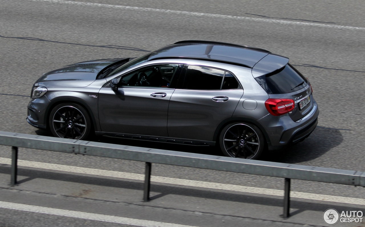 mercedes benz gla 45 amg x156 5 november 2016 autogespot. Black Bedroom Furniture Sets. Home Design Ideas