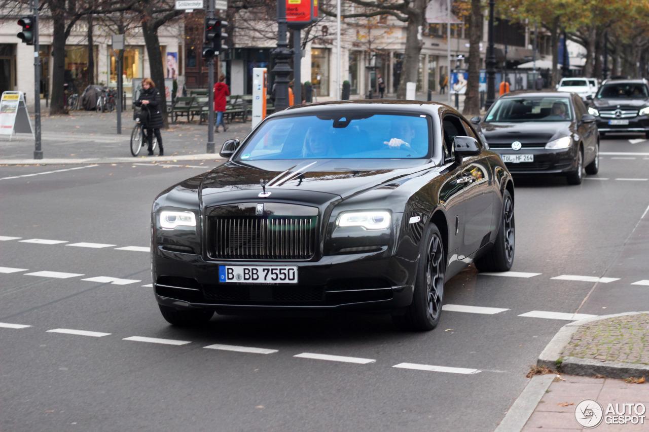 Rolls-Royce Wraith Black Badge - 5 novembre 2016 - Autogespot