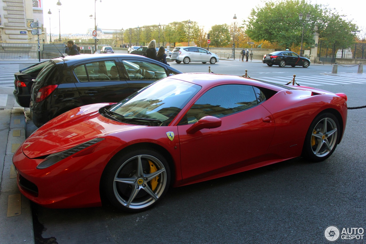 ferrari 458 italia 6 november 2016 autogespot. Cars Review. Best American Auto & Cars Review