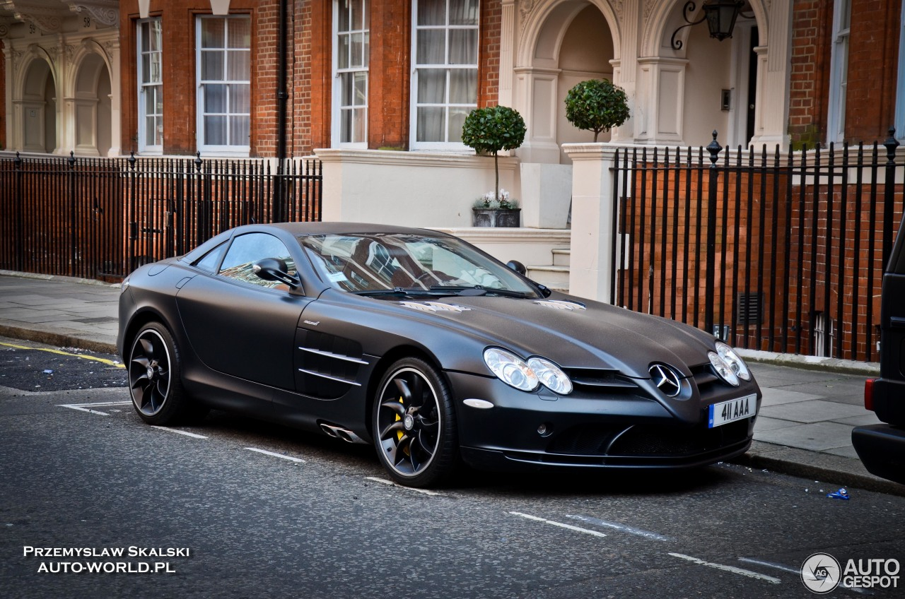 Mercedes benz slr mclaren 6 november 2016 autogespot for Mercedes benz slr mclaren price