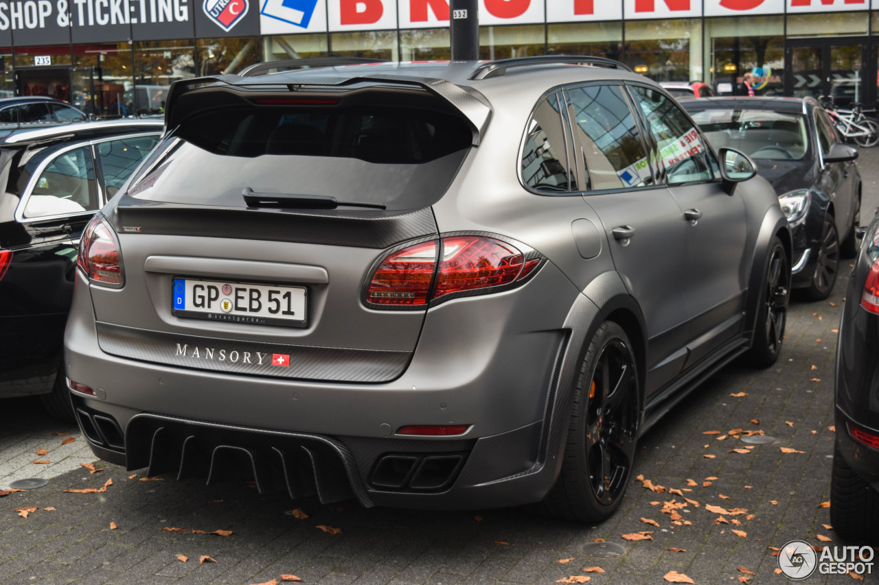 porsche mansory 958 cayenne 6 november 2016 autogespot. Black Bedroom Furniture Sets. Home Design Ideas