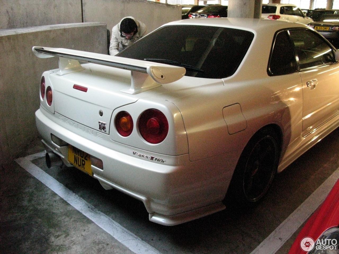 Nissan Skyline R34 GTR VSpec II Nr  7 November 2016  Autogespot
