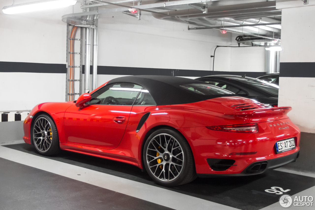 porsche 991 turbo s cabriolet 7 november 2016 autogespot. Black Bedroom Furniture Sets. Home Design Ideas