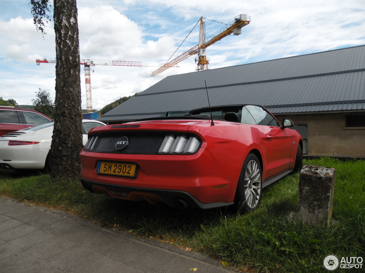 Ford Mustang GT Convertible 2015 - 9 November 2016 ...  Ford Mustang GT...
