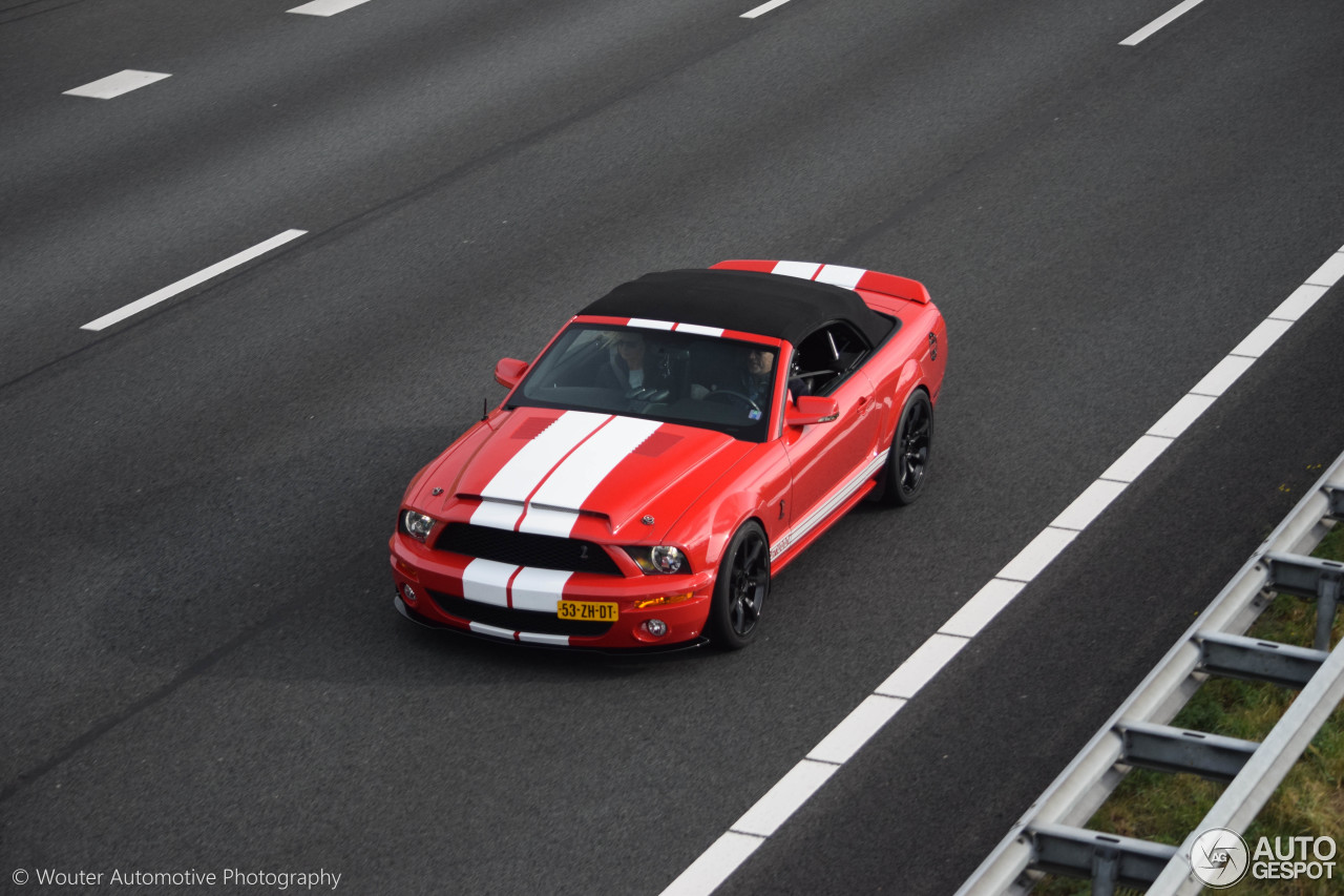 ford mustang shelby gt500 convertible 9 november 2016 autogespot. Black Bedroom Furniture Sets. Home Design Ideas
