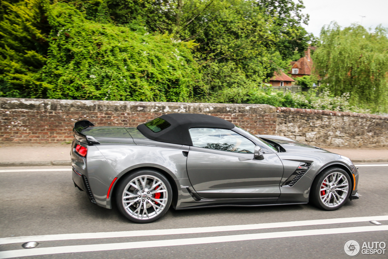 chevrolet corvette c7 z06 convertible 11 november 2016 autogespot. Black Bedroom Furniture Sets. Home Design Ideas