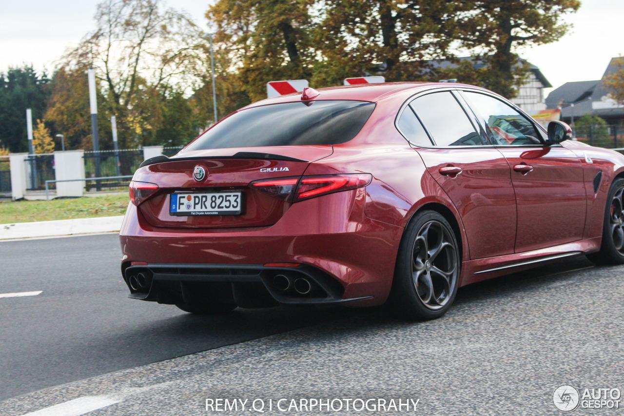 Alfa romeo giulia price europe 12