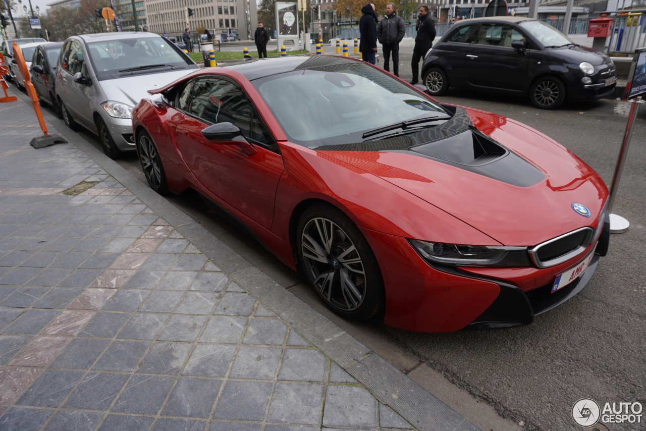 Bmw I8 Protonic Red Edition 12 November 2016 Autogespot