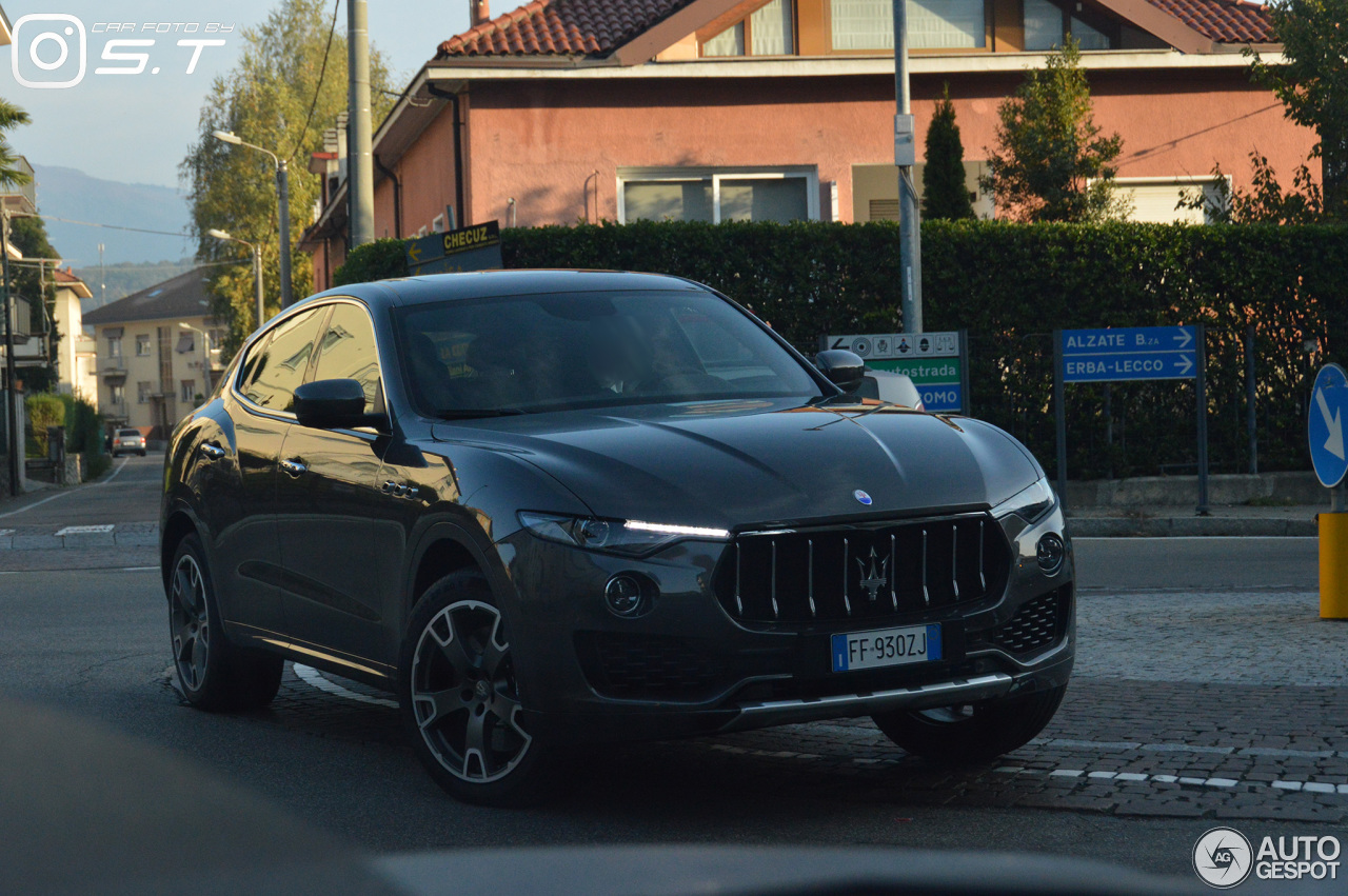 maserati levante s 13 novembre 2016 autogespot. Black Bedroom Furniture Sets. Home Design Ideas