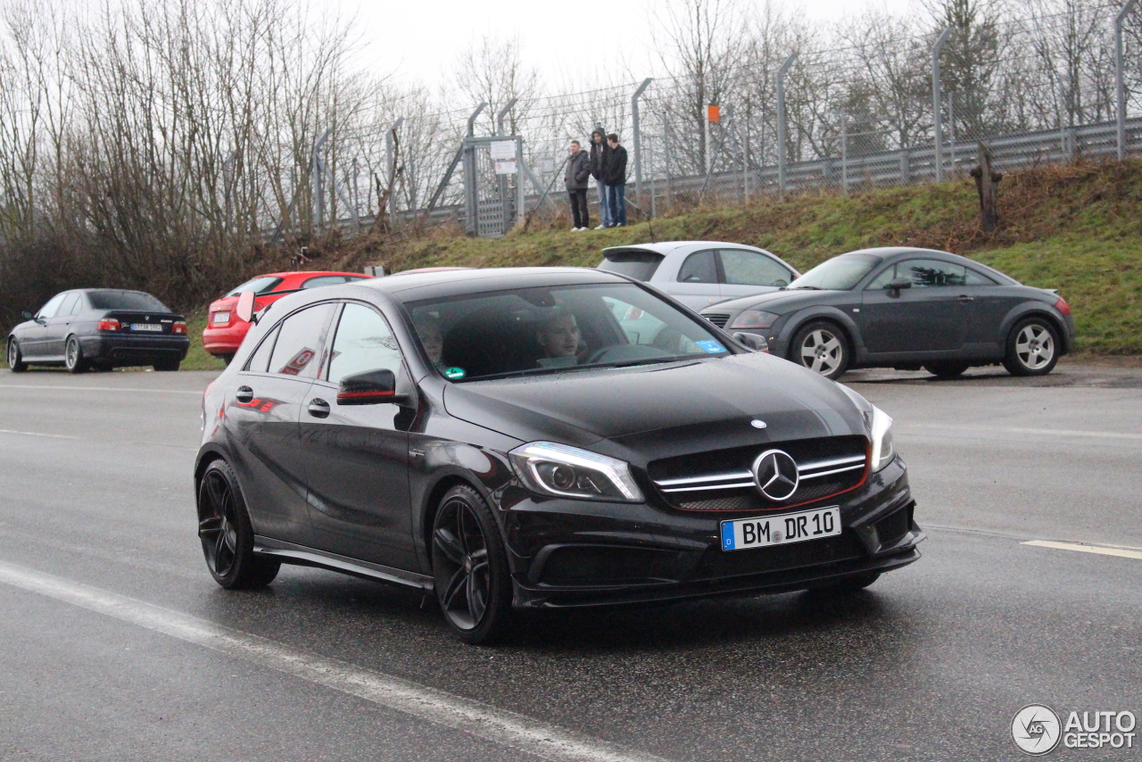 Mercedes benz a 45 amg edition 1 13 november 2016 for Mercedes benz a 45