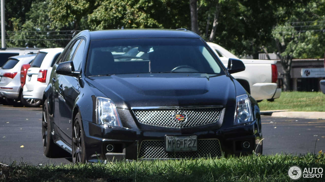 cadillac cts v sport wagon 14 november 2016 autogespot. Black Bedroom Furniture Sets. Home Design Ideas
