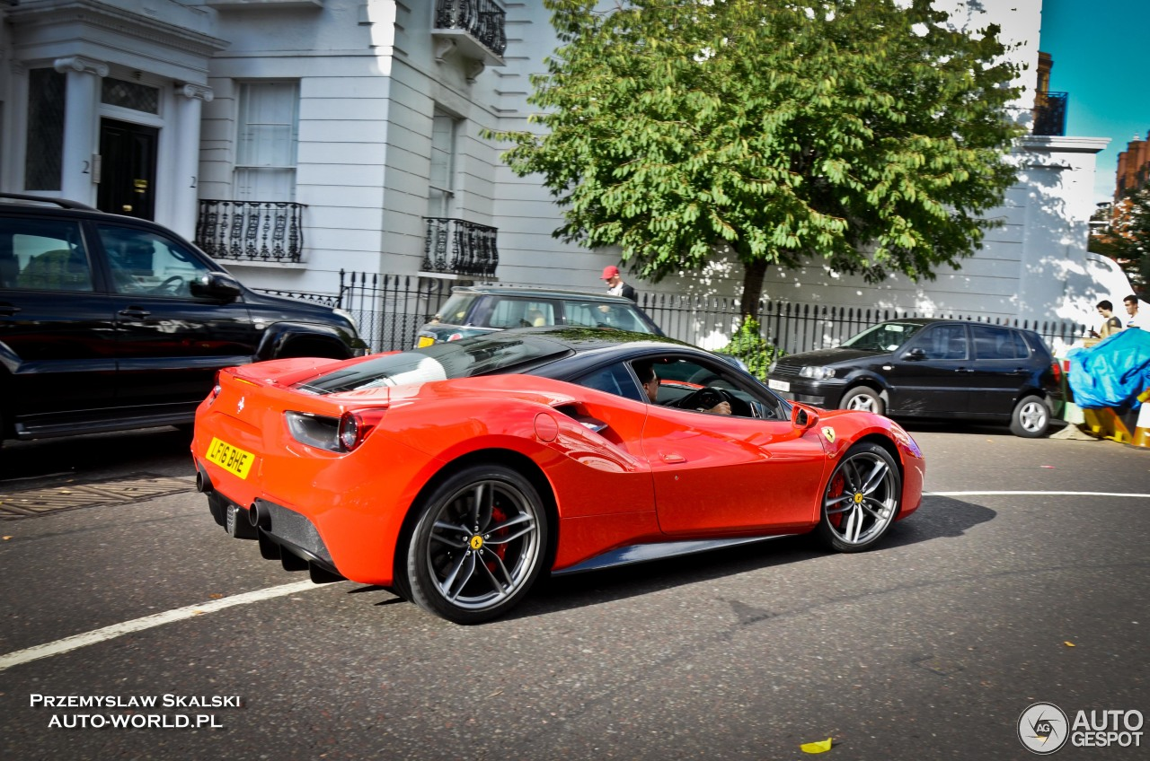 ferrari 488 gtb 15 november 2016 autogespot. Black Bedroom Furniture Sets. Home Design Ideas