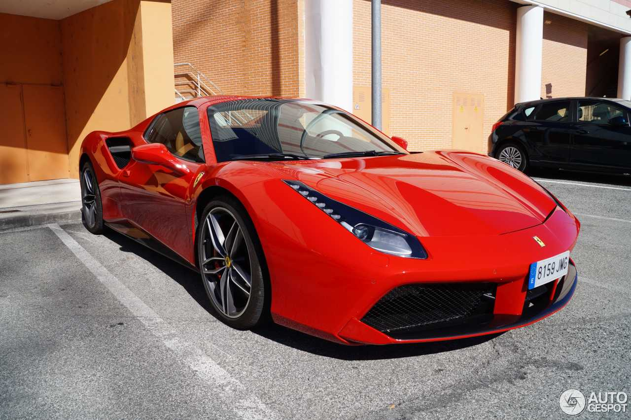 ferrari 488 spider 17 novembre 2016 autogespot. Black Bedroom Furniture Sets. Home Design Ideas