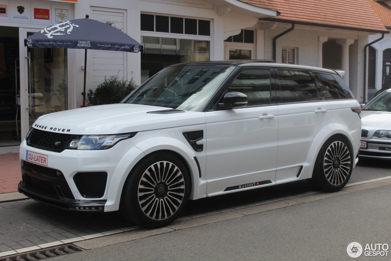 land rover mansory range rover sport svr 18 2016 autogespot. Black Bedroom Furniture Sets. Home Design Ideas