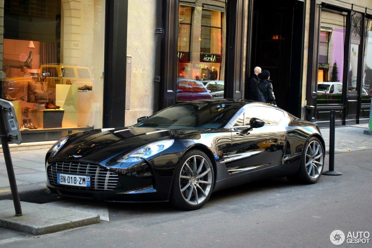 Aston Martin One-77 - 19 November 2016 - Autogespot